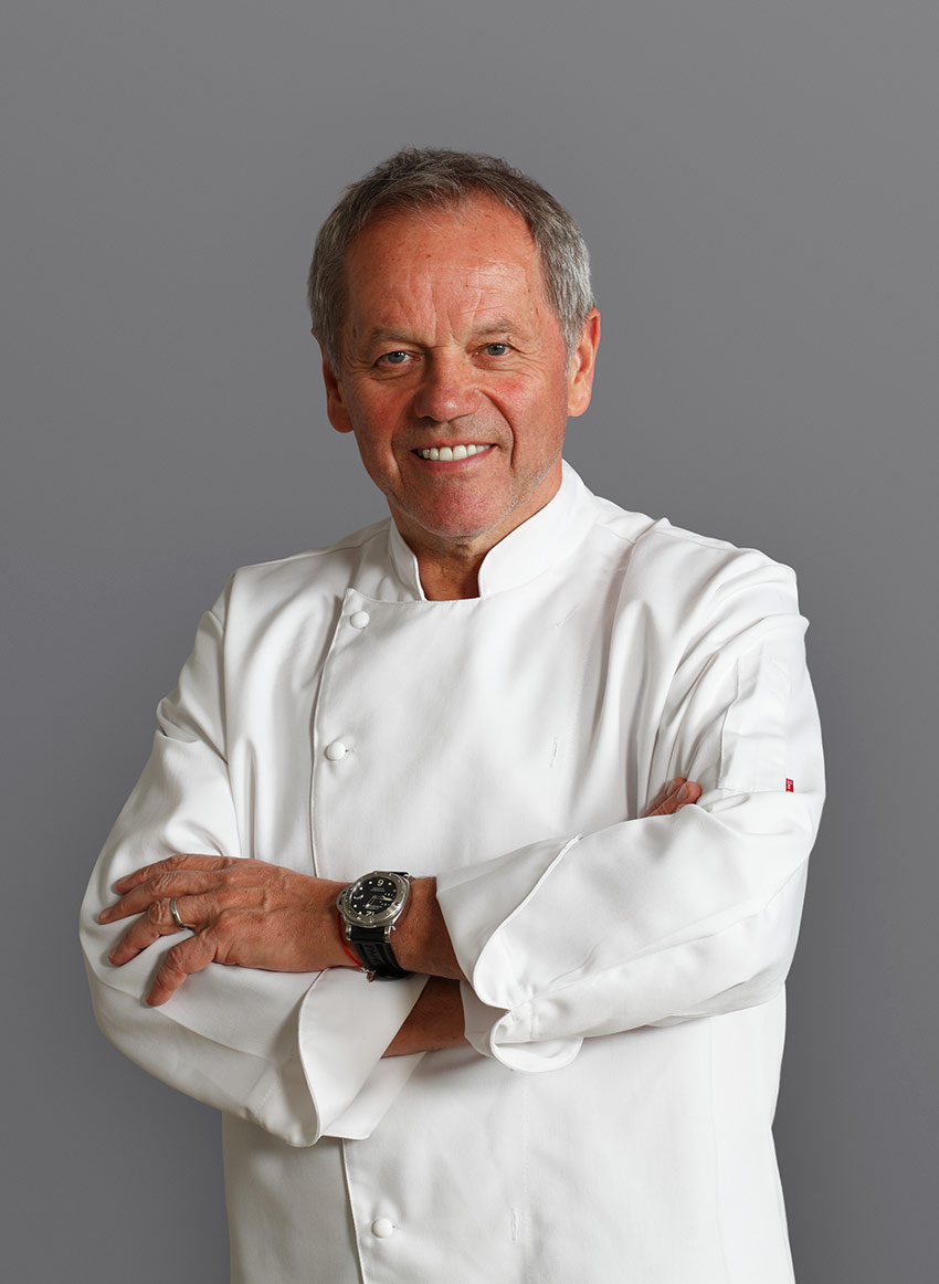 Wolfgang puck food and travel magazine uk