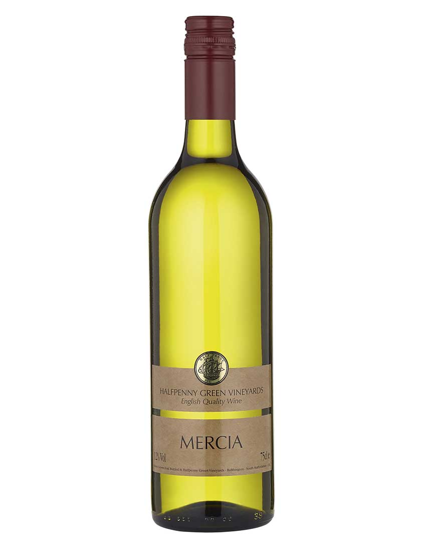 Halfpenny Green Vineyards Mercia 2014, £11