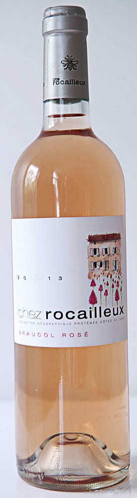 Clos Rocailleux Braucol Rose 2013, France, £11.99