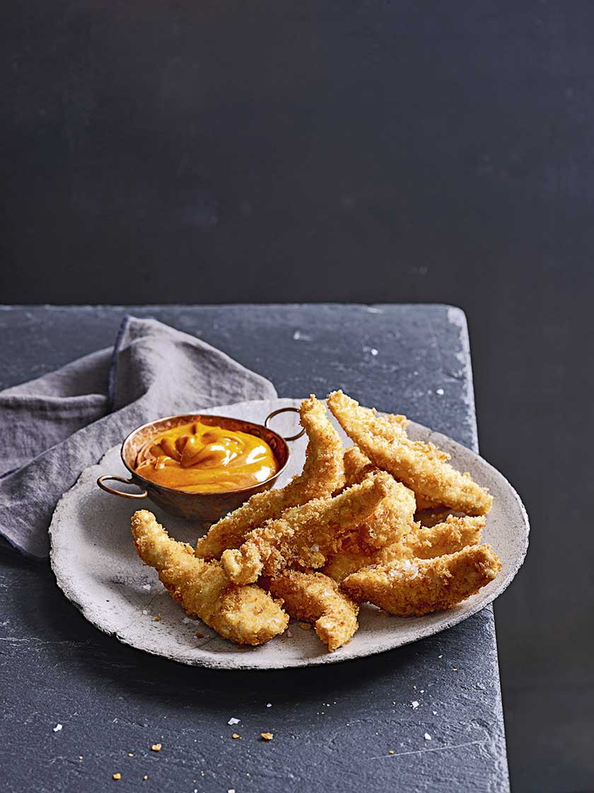 Food And Travel Magazine Chicken Goujons With Smoked