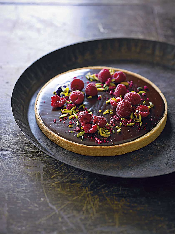 Chocolate Honeycomb Tart Recipe