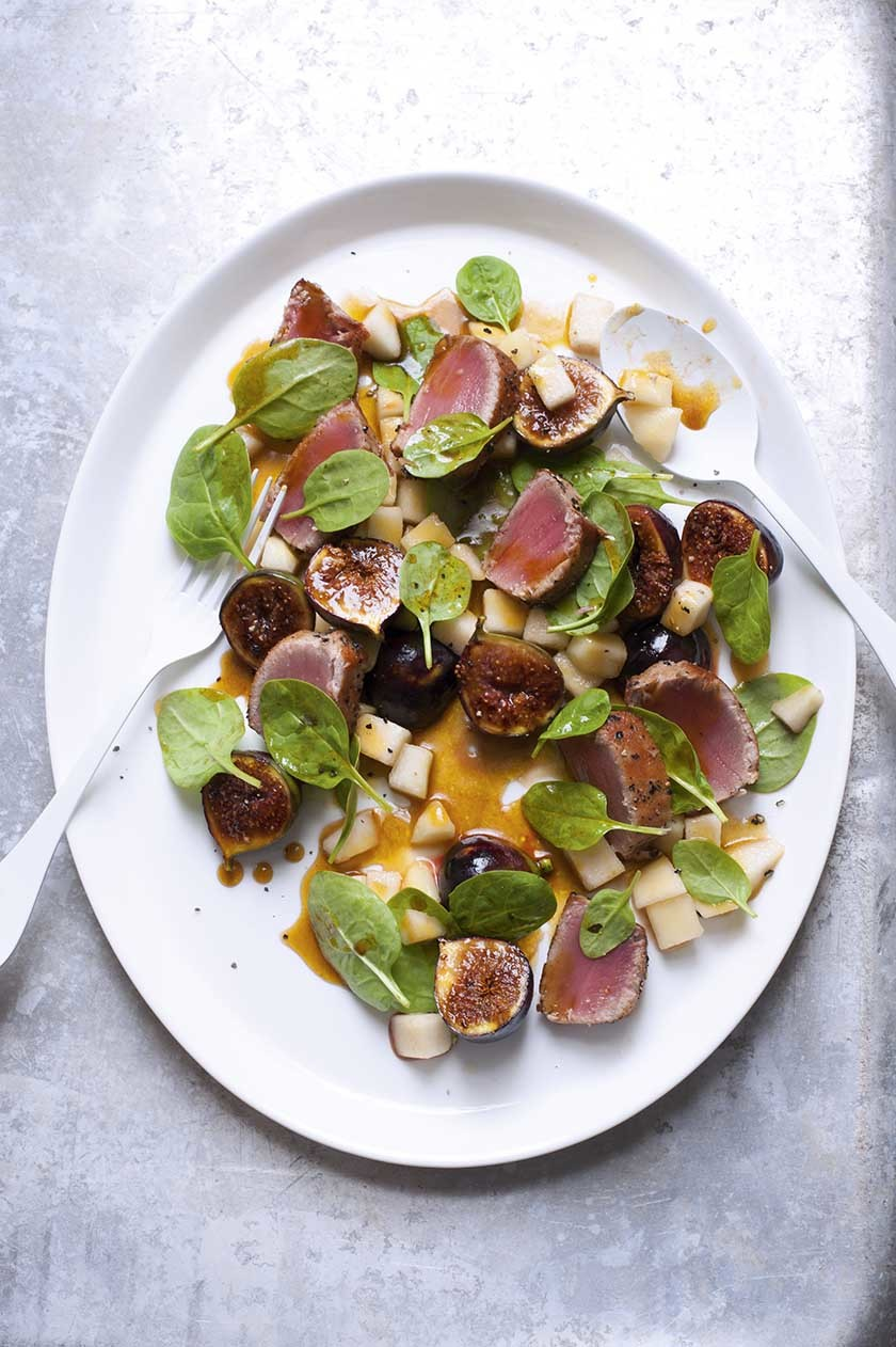 Fig And Tuna Salad  Bluer