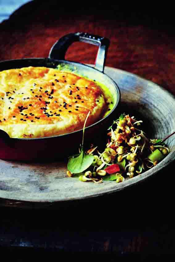 Keralan seafood pies