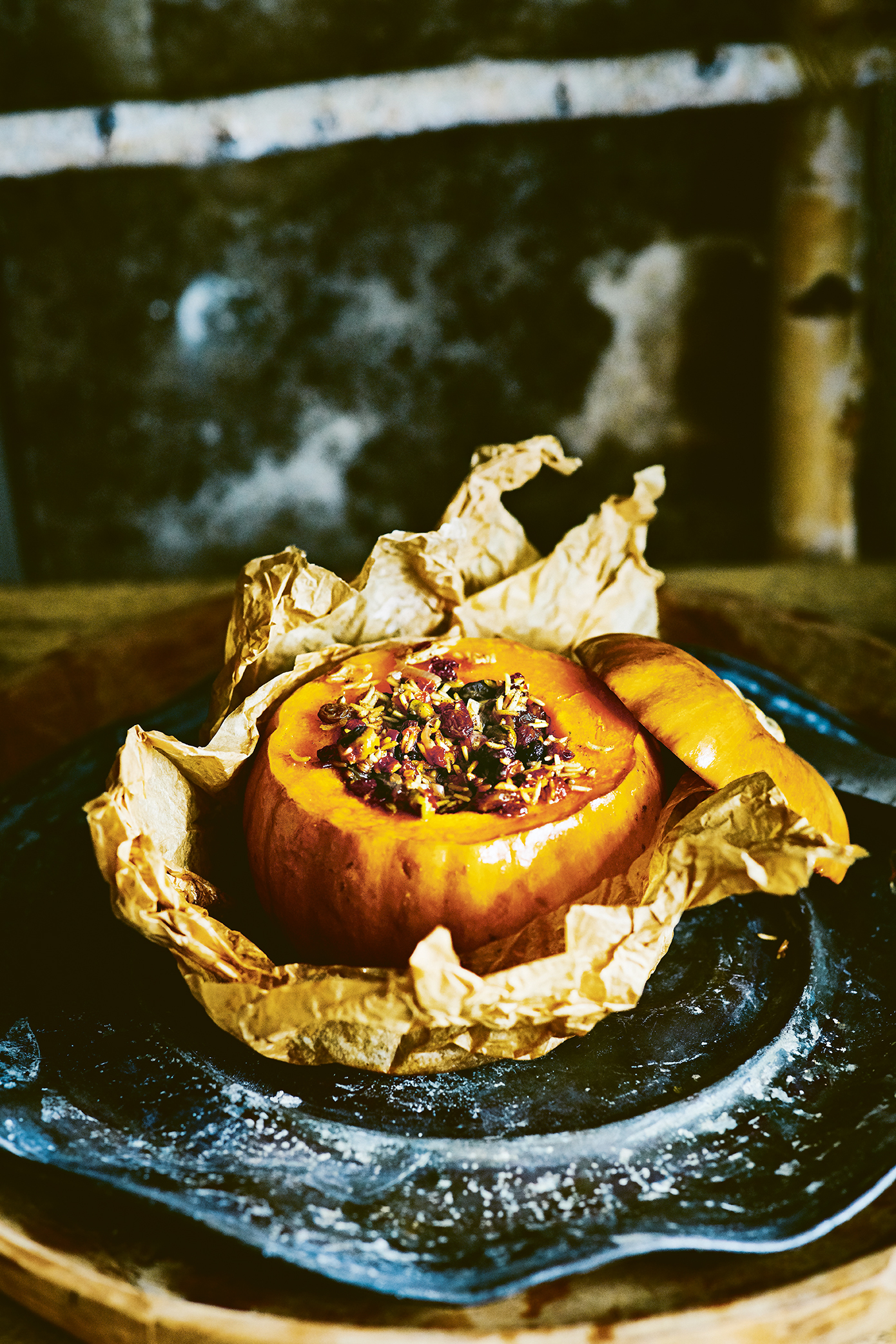 Leon Fast Vegan Stuffed Pumpkin
