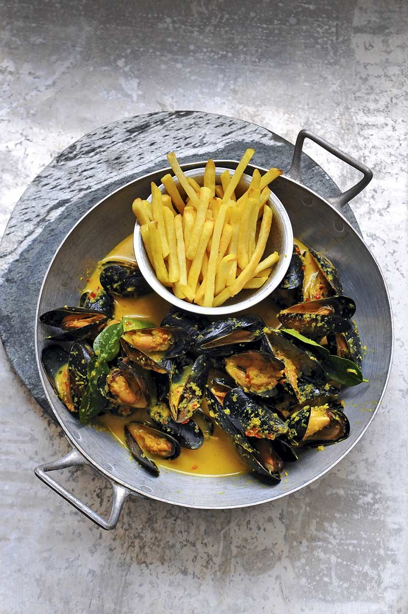 Mussel And Chips