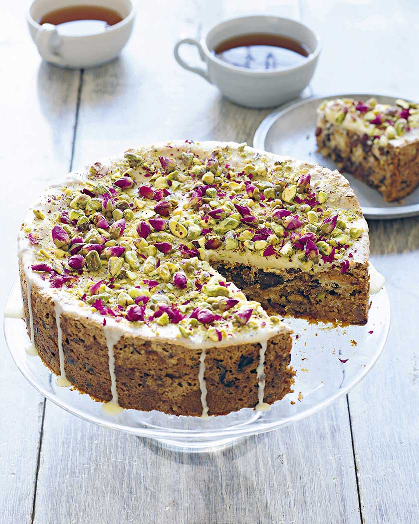 Chocolate Rosewater Cake