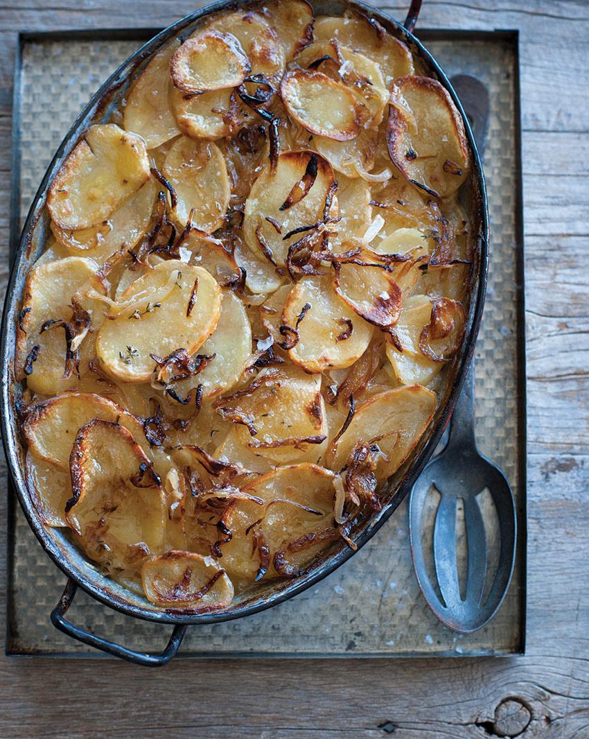 Potato and onion gratin recipes