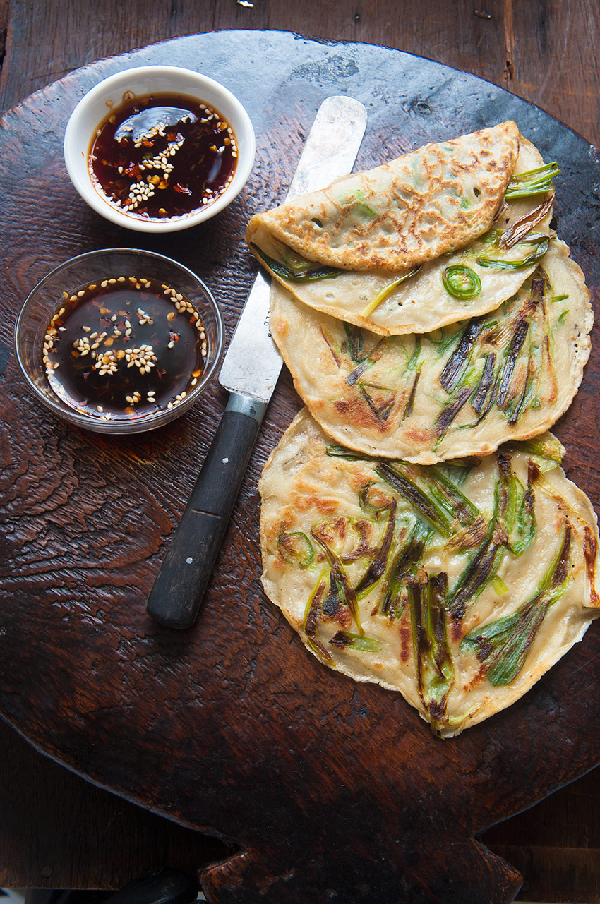 Korean spring onion pancakes (pajeon) | Food and Travel Magazine UK