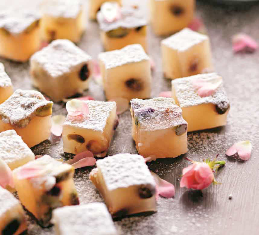 turkish delight recipe rose