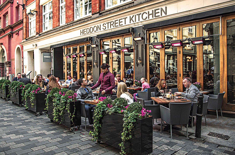 Heddon Street Kitchen Ice Cream Bar