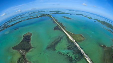 Overseas Highway 10 Lower Keys Aerial High Res Must Credit Andy Newman